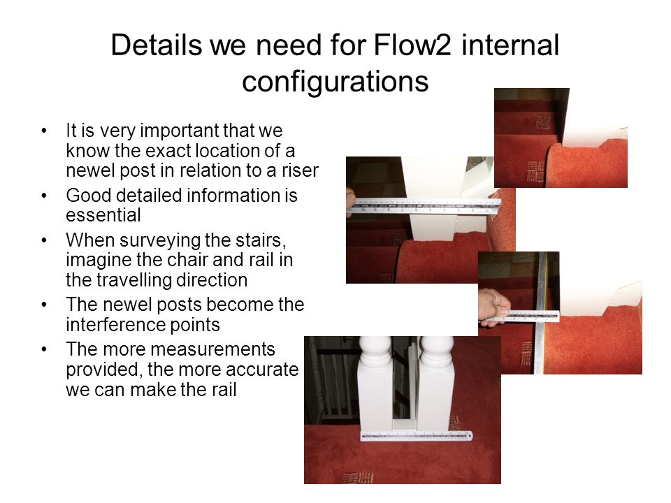 Details we need for Flow2 internal configurations
