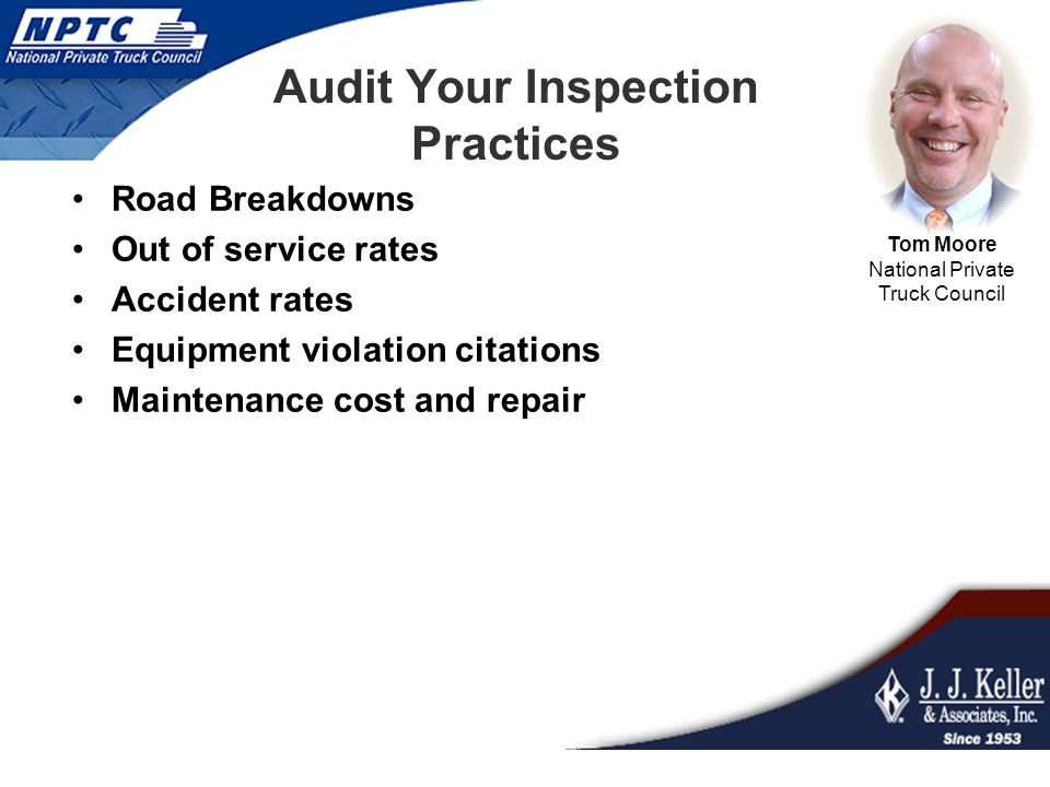 Audit Your Inspection Practices