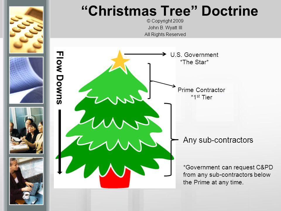 Christmas Tree Doctrine