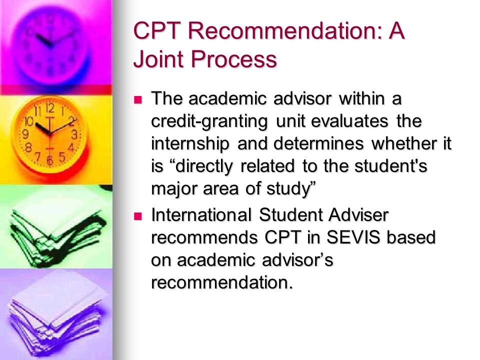 CPT Recommendation: A Joint Process