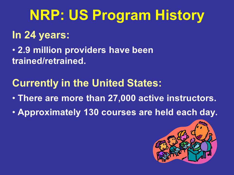 NRP: US Program History