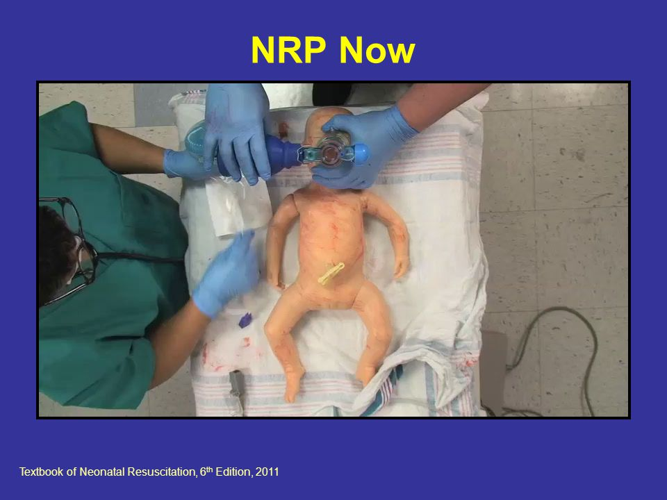 Textbook of Neonatal Resuscitation, 6th Edition, 2011