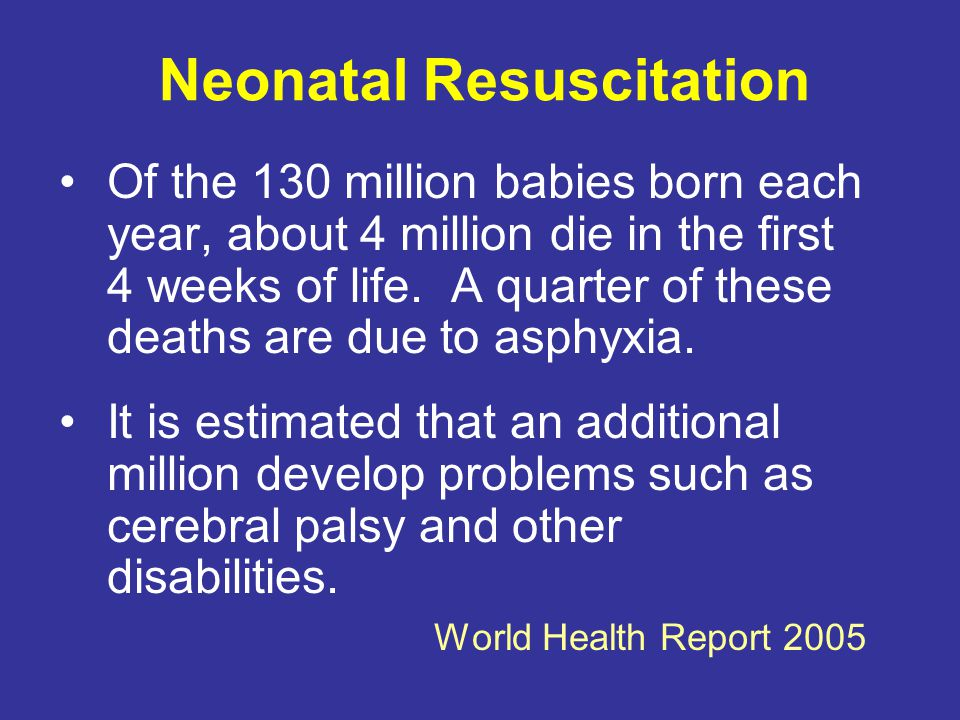 Neonatal Resuscitation...