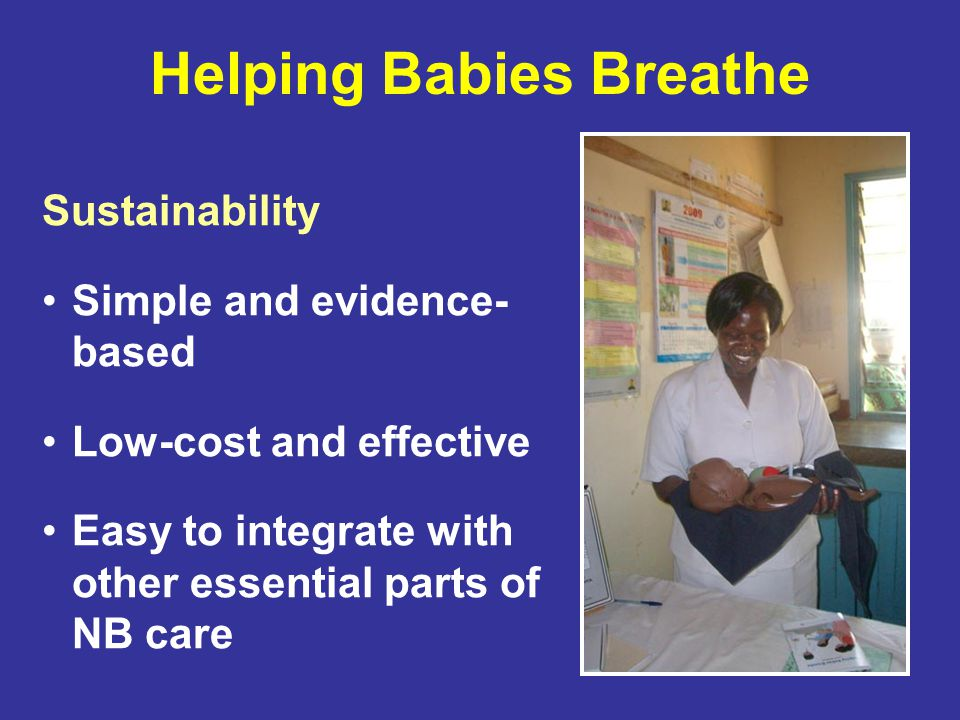 Helping Babies Breathe