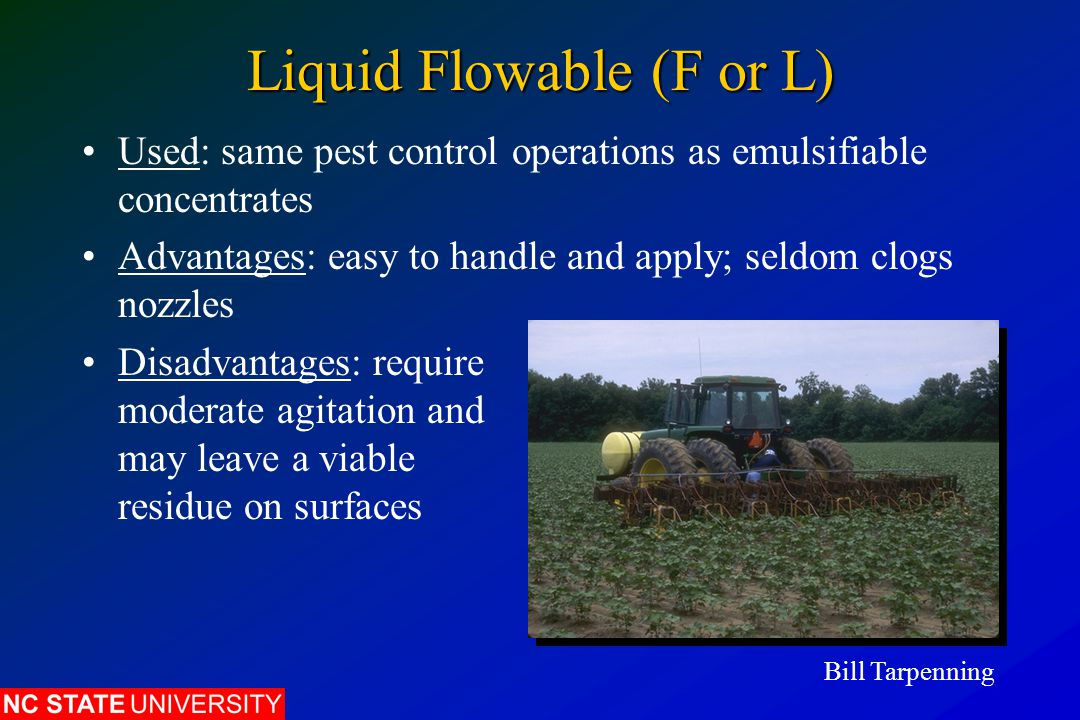 Liquid Flowable (F or L)