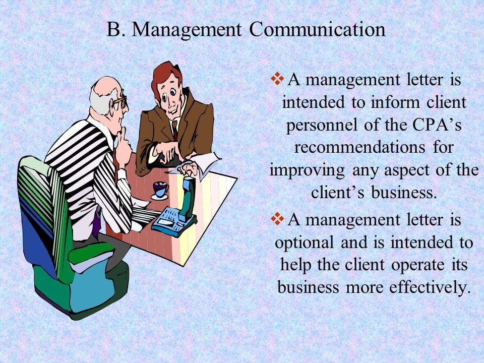 B. Management Communication