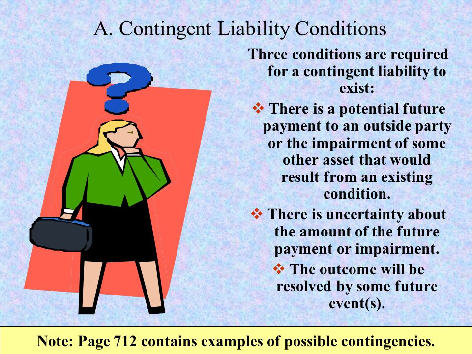 A. Contingent Liability Conditions