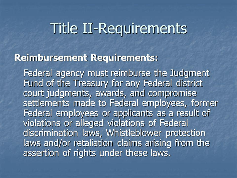 Title II-Requirements