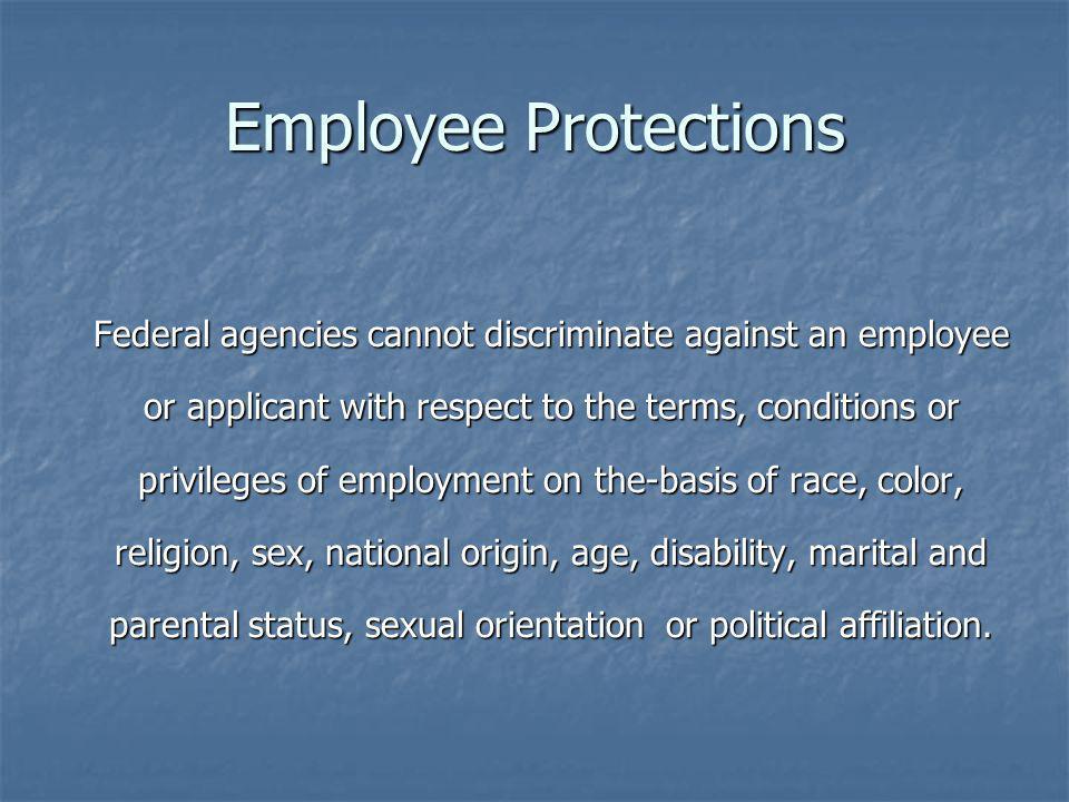 Employee Protections