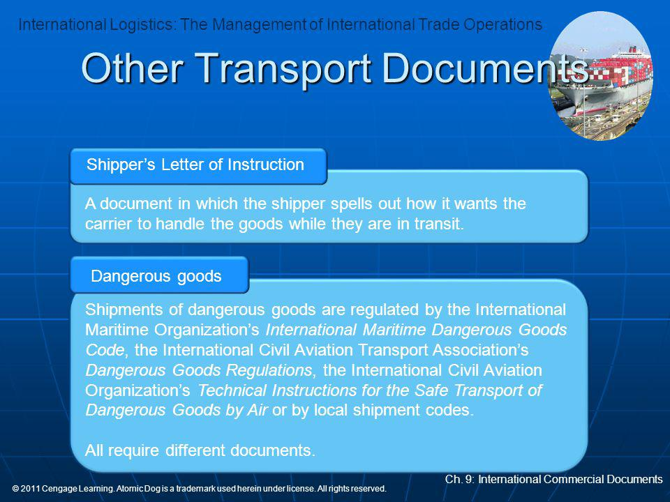 Other Transport Documents