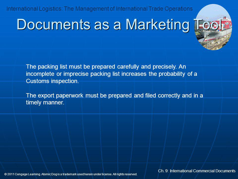 Documents as a Marketing Tool