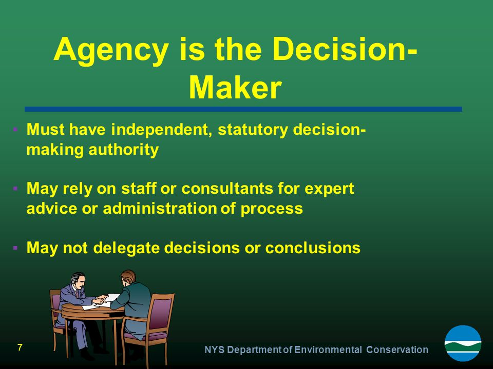 Agency is the Decision-Maker