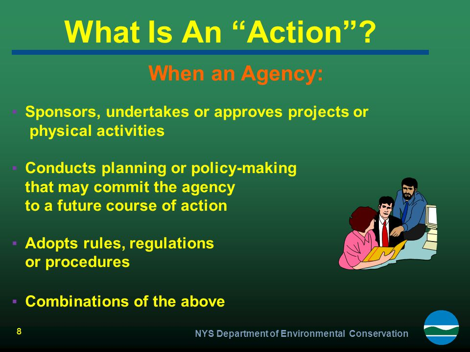 What Is An Action When an Agency: