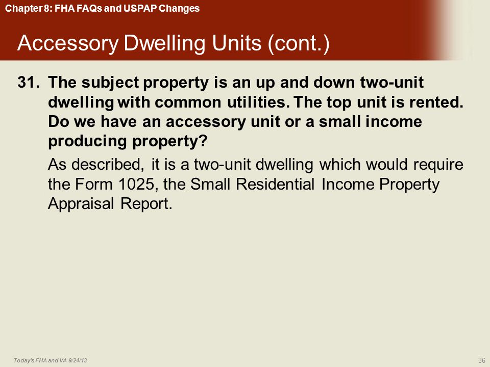 Accessory Dwelling Units (cont.)