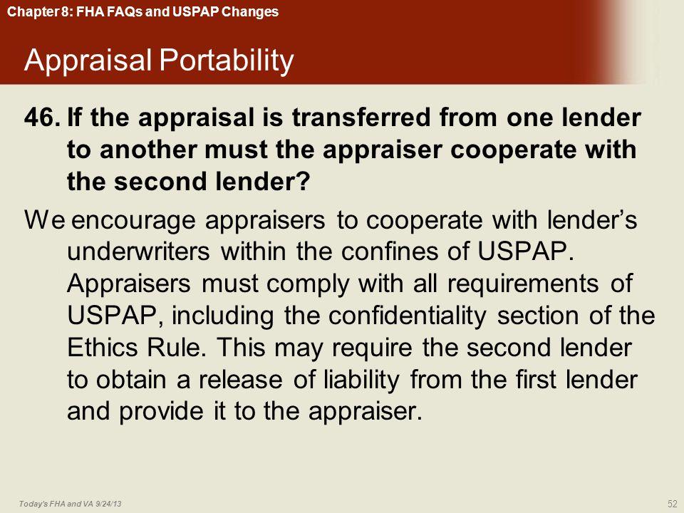 Appraisal Portability