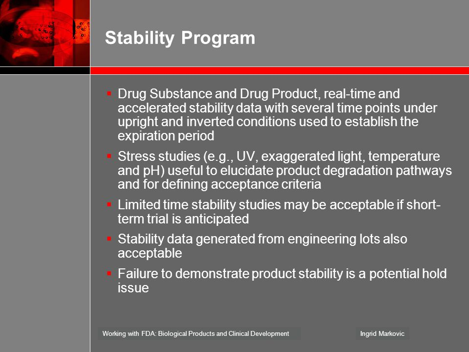 Stability Program