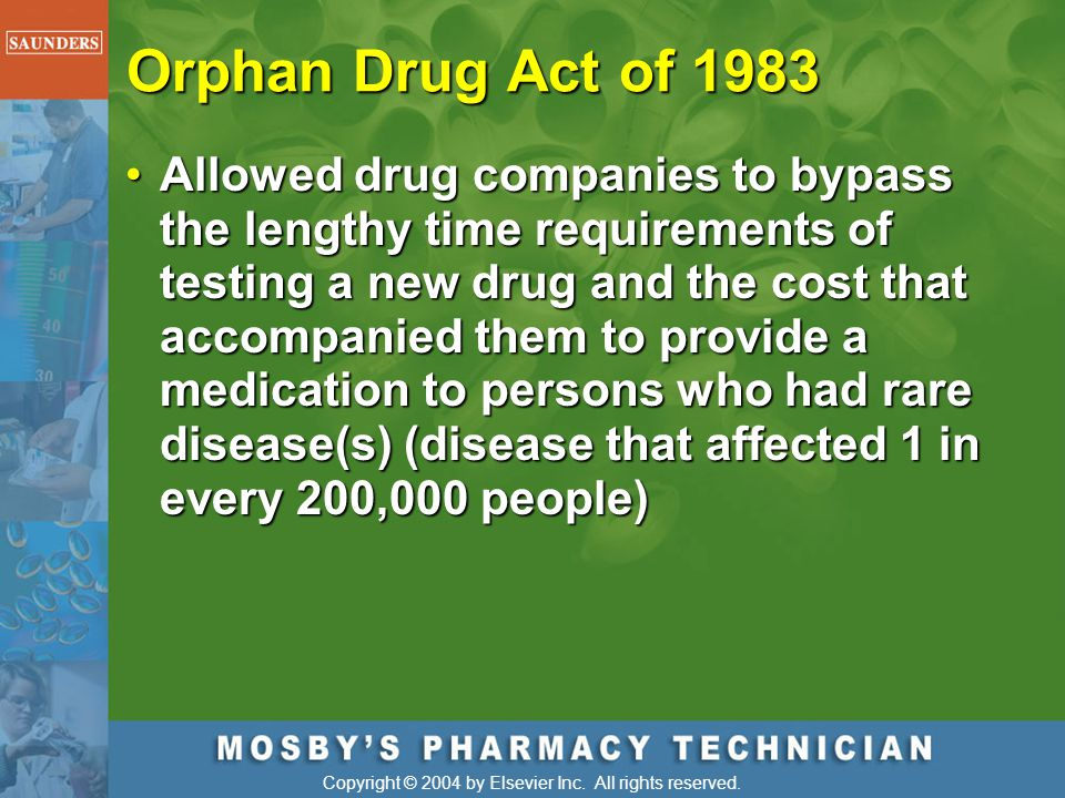 Orphan Drug Act of 1983