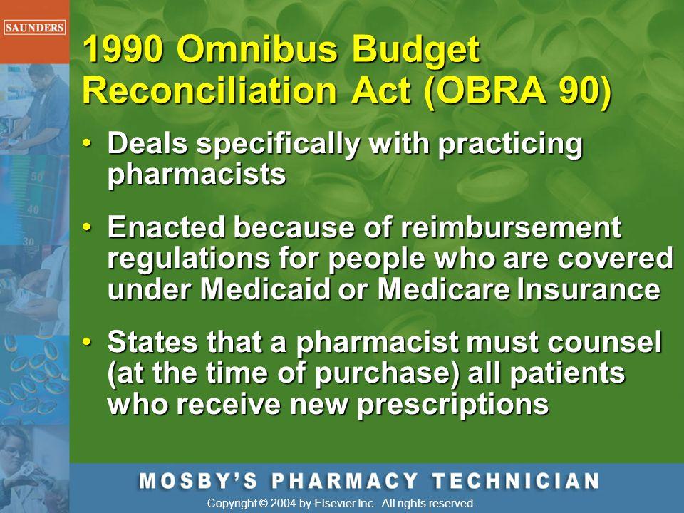 1990 Omnibus Budget Reconciliation Act (OBRA 90)