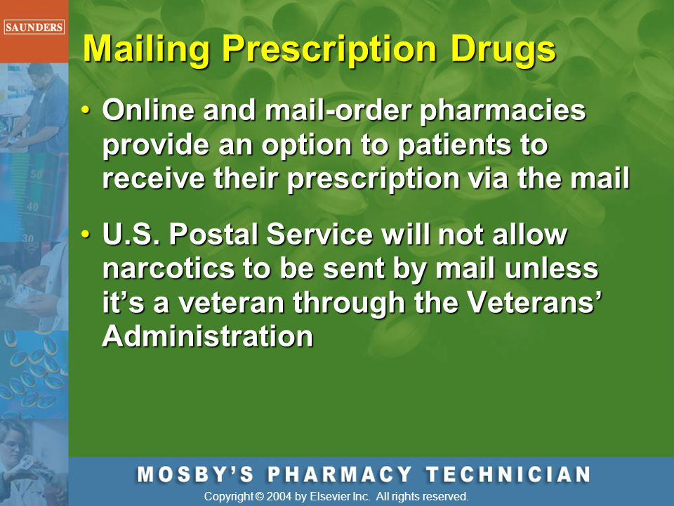 Mailing Prescription Drugs