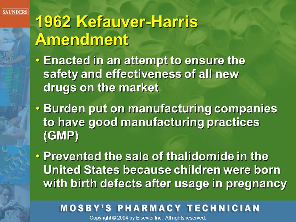 1962 Kefauver-Harris Amendment