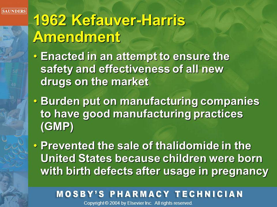 1962 Kefauver-Harris Amendment