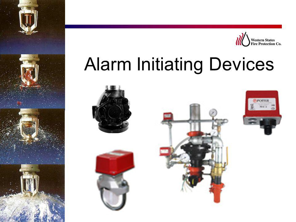 Alarm Initiating Devices