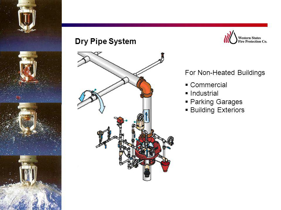 Dry Pipe System For Non-Heated Buildings Commercial Industrial