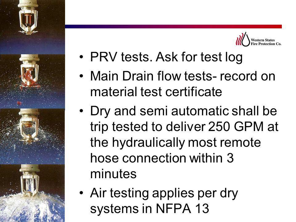 PRV tests. Ask for test log