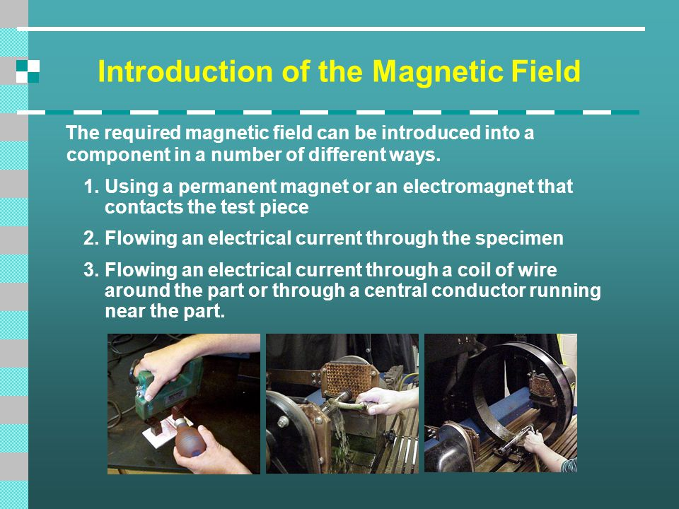 Introduction of the Magnetic Field