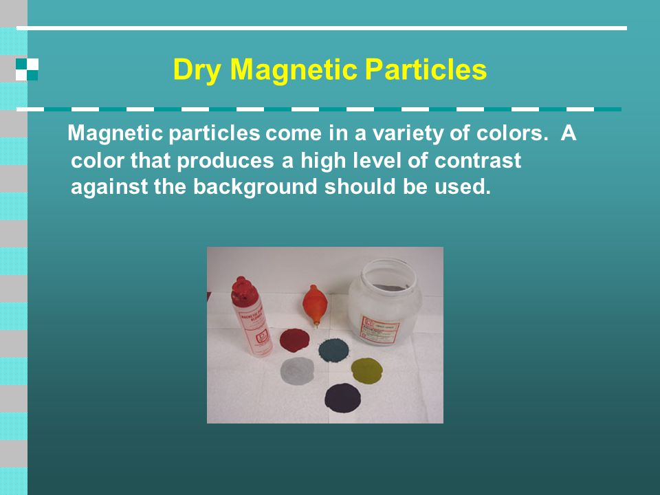 Dry Magnetic Particles