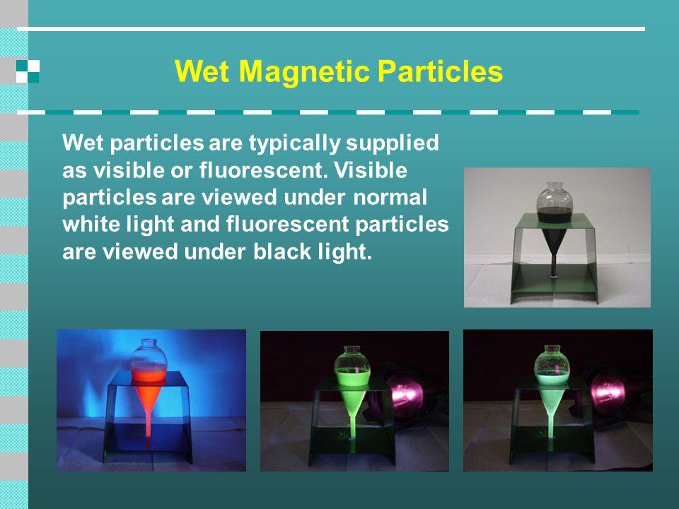 Wet Magnetic Particles