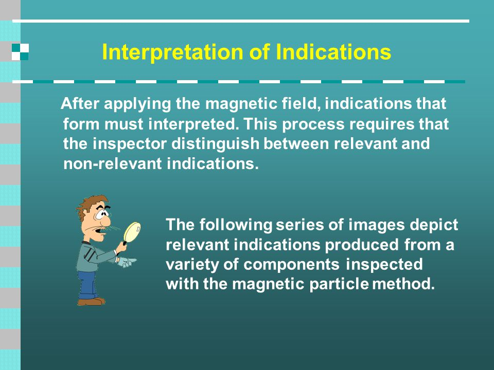 Interpretation of Indications