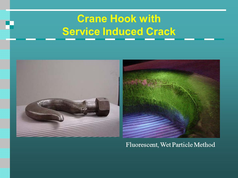 Crane Hook with Service Induced Crack