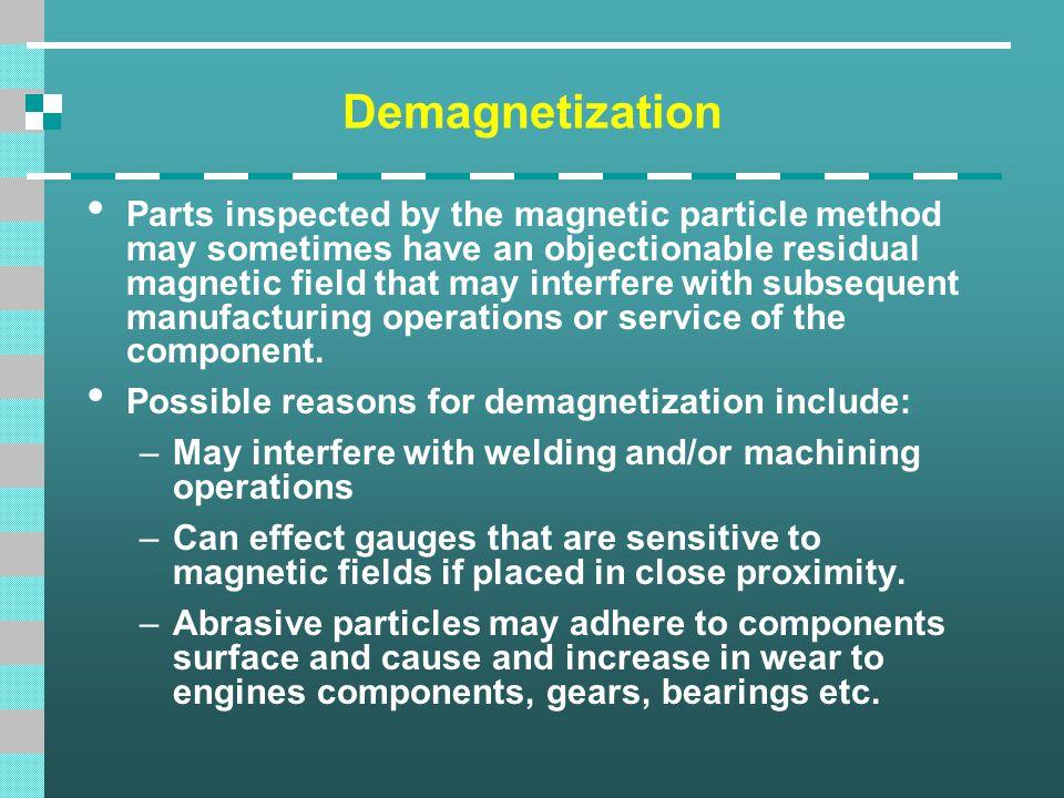Demagnetization