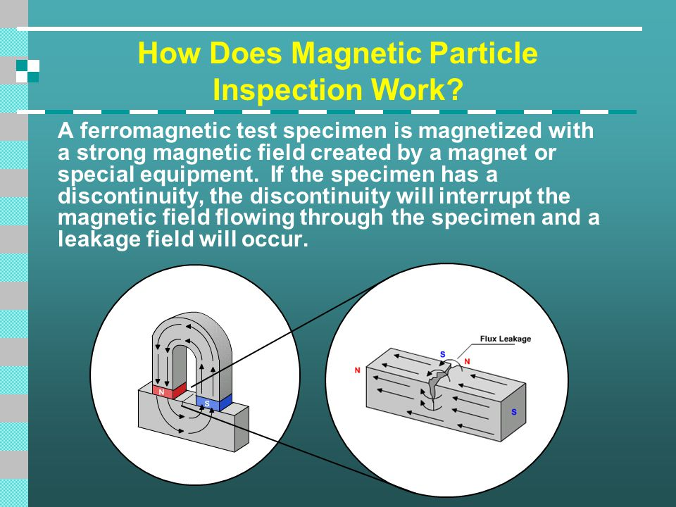 How Does Magnetic Particle Inspection Work