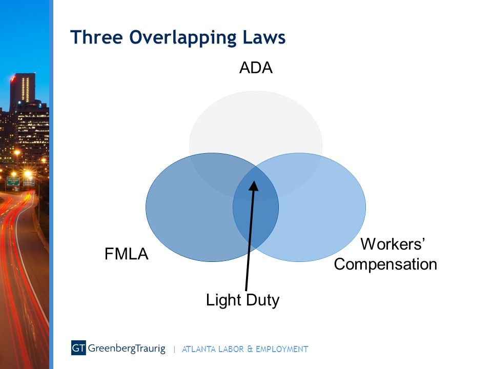 Three Overlapping Laws