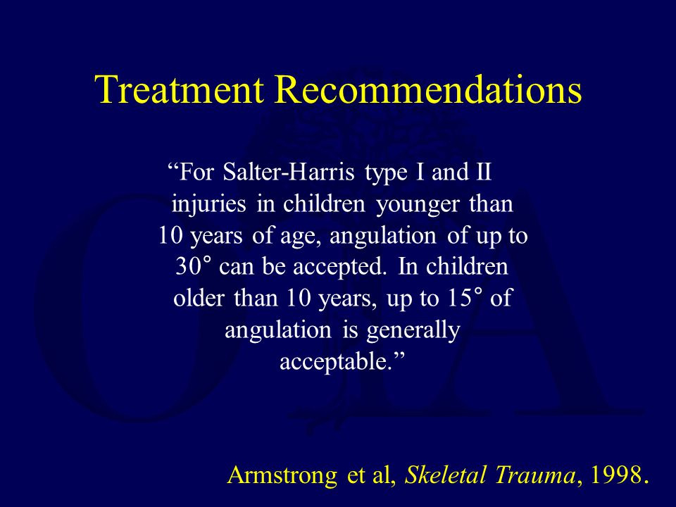 Treatment Recommendations