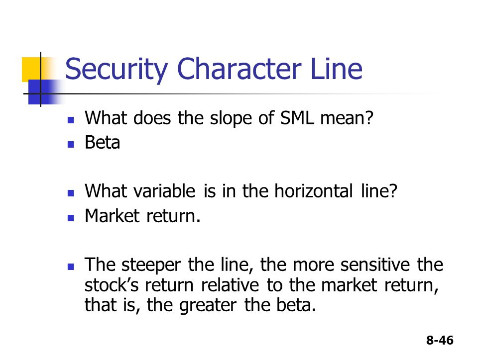 Security Character Line
