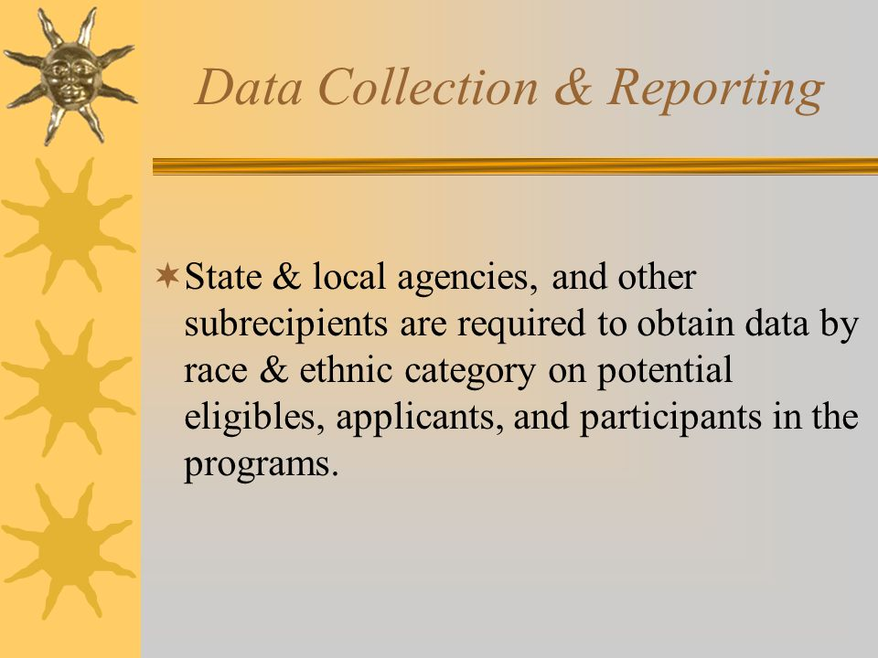 Data Collection & Reporting