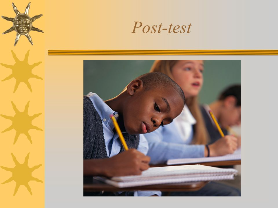 Post-test The Non-Discrimination Statement indicates we can not discriminate based on: Age. Color.