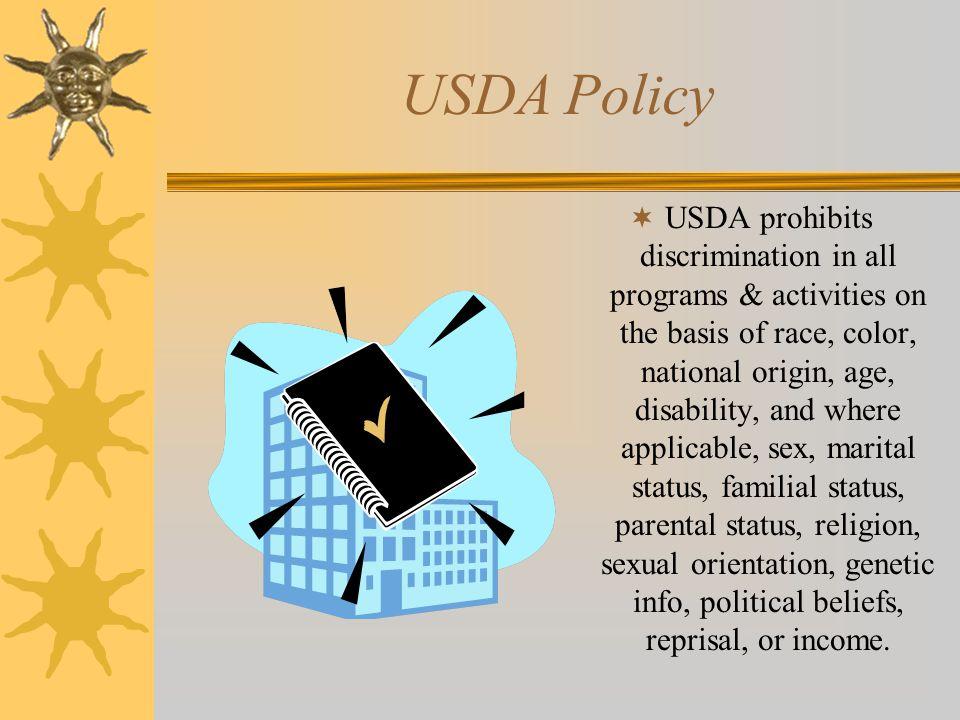 USDA Policy