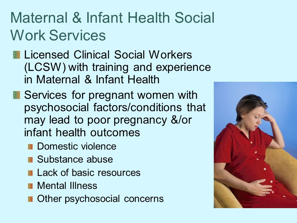 Maternal & Infant Health Social Work Services