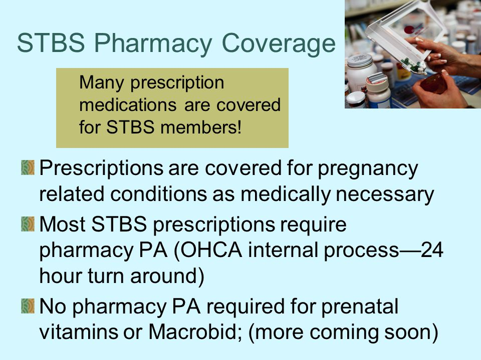 STBS Pharmacy Coverage