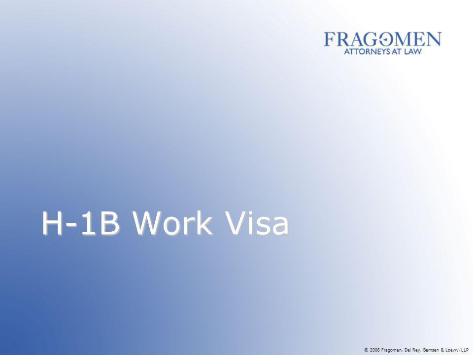 H-1B Work Visa