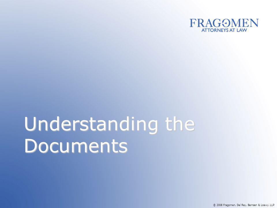 Understanding the Documents