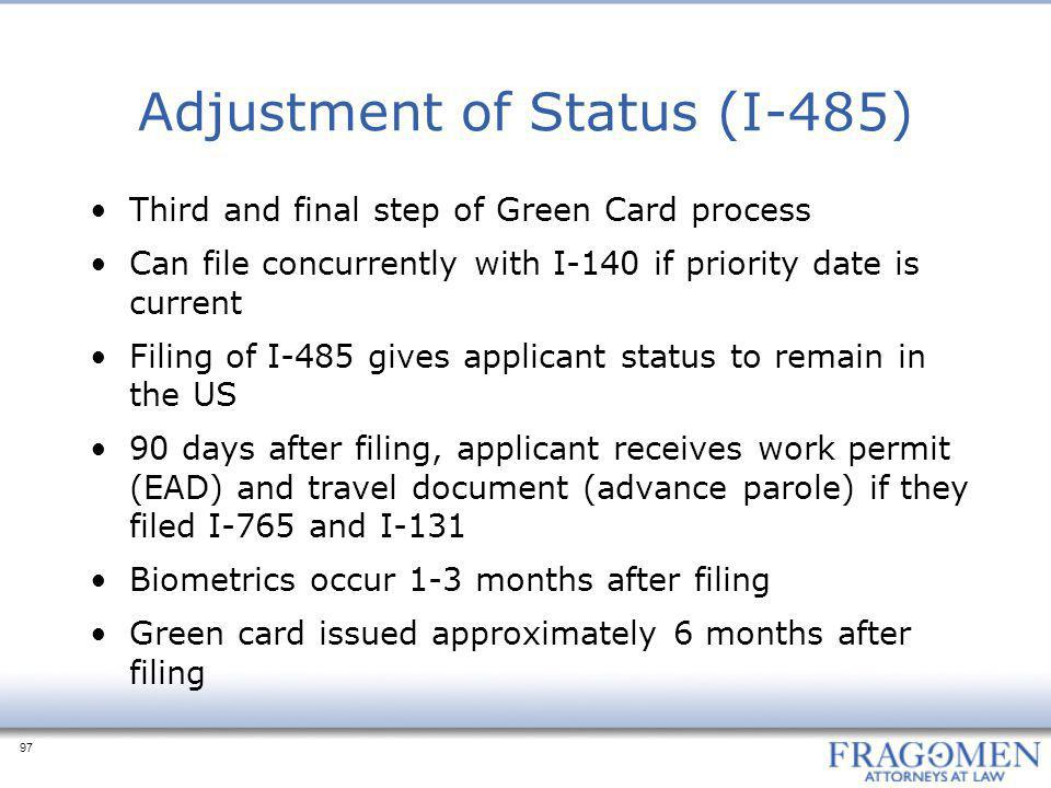 Adjustment of Status (I-485)