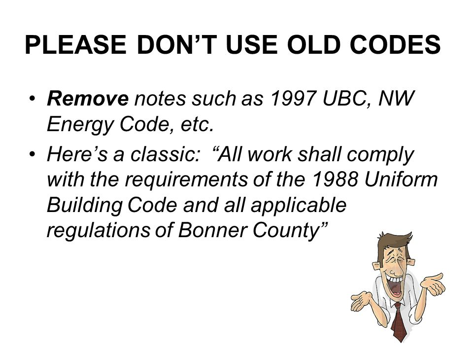 PLEASE DON'T USE OLD CODES