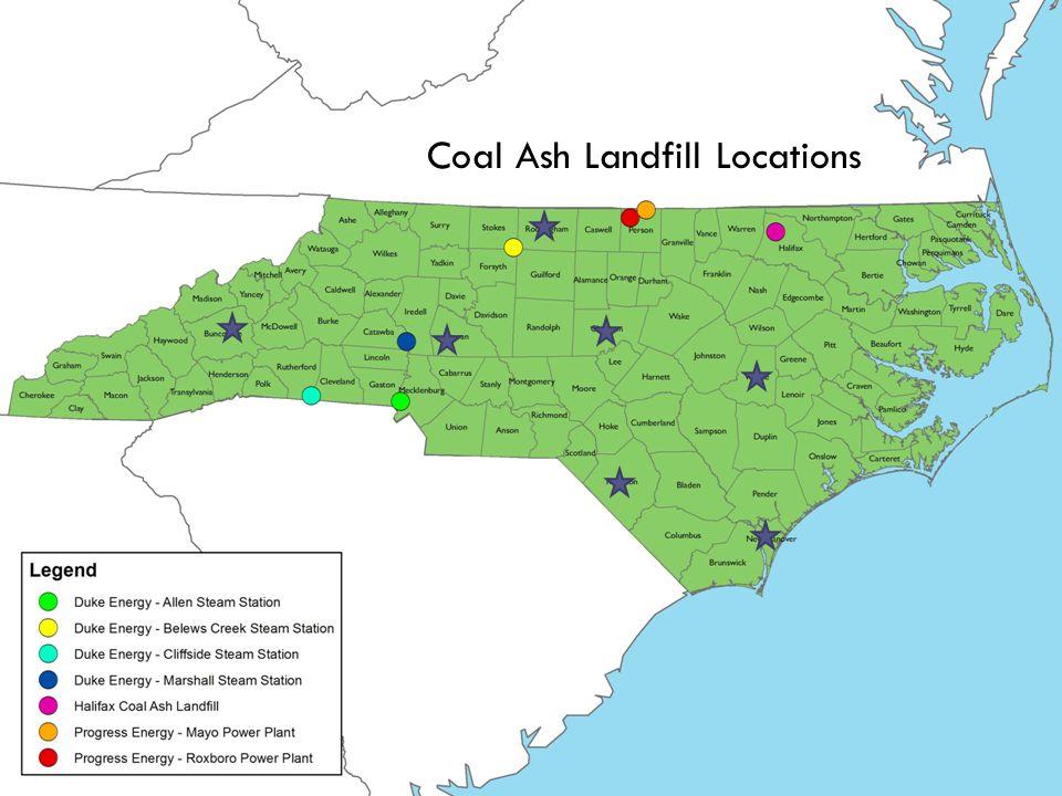 Coal Ash Landfill Locations