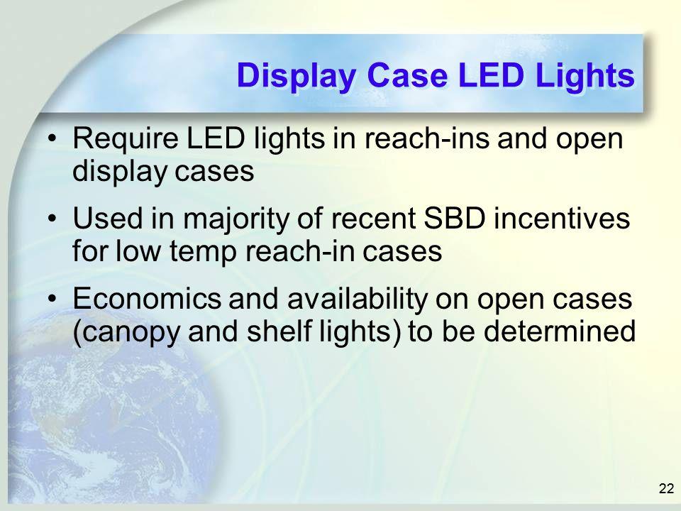 Display Case LED Lights