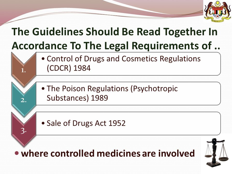 The Guidelines Should Be Read Together In Accordance To The Legal Requirements of ..